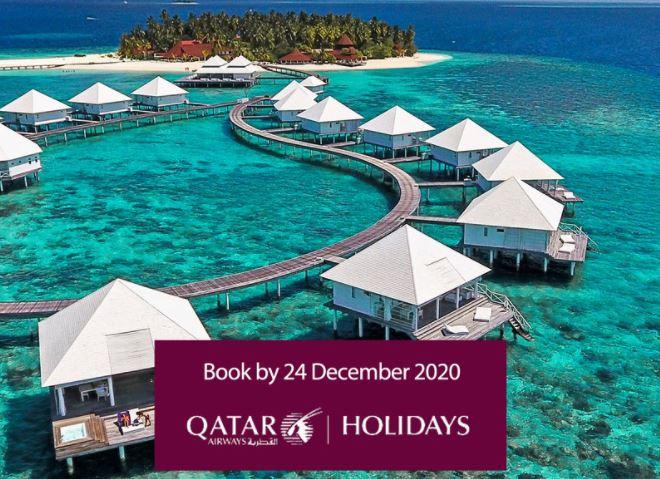 القطرية للعطلات توفر رحلات آمنة للاستمتاع بإجازة لا تنسى في المالديف
